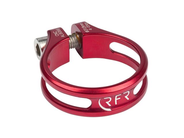 RFR Ultralight Sattelklemme Ø 31,8 mm rot